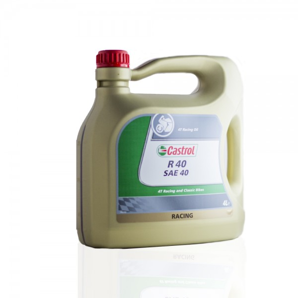 Castrol 4T Racing Oil R 40 SAE 40 (big can)